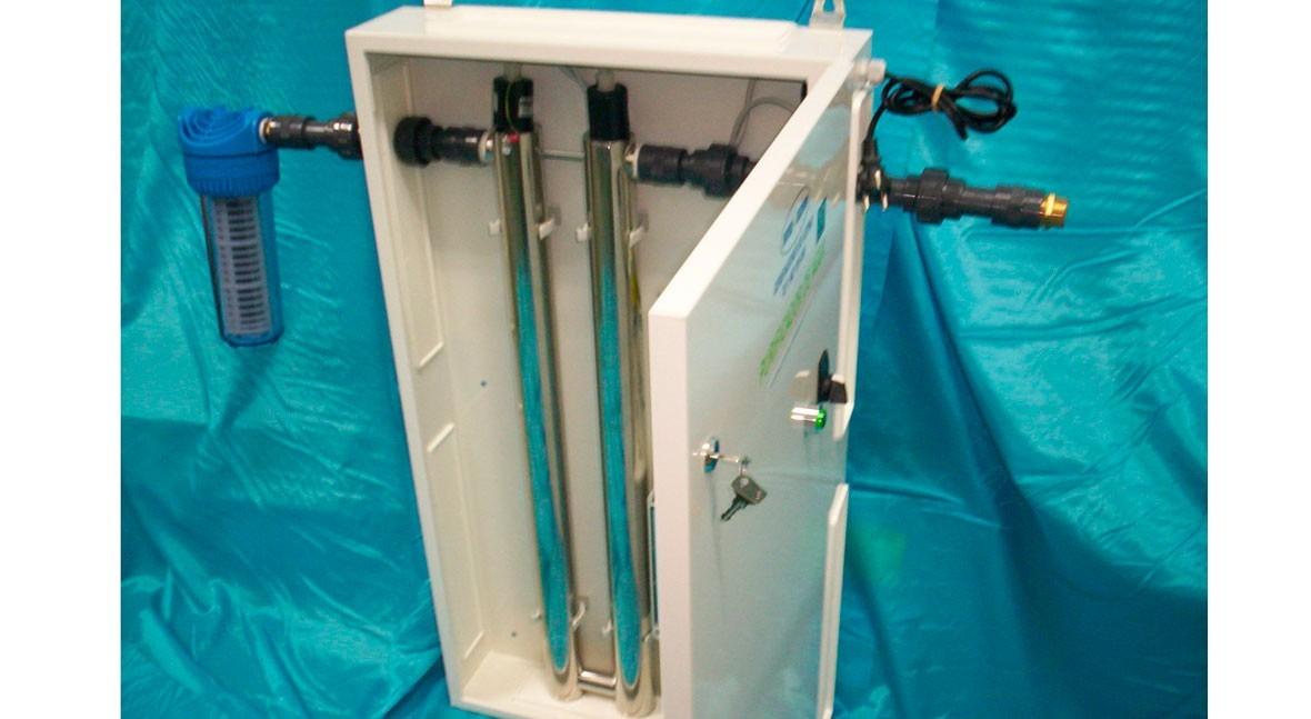 Ultravioleta, desinfección agua regenerada y caliente (ACS)