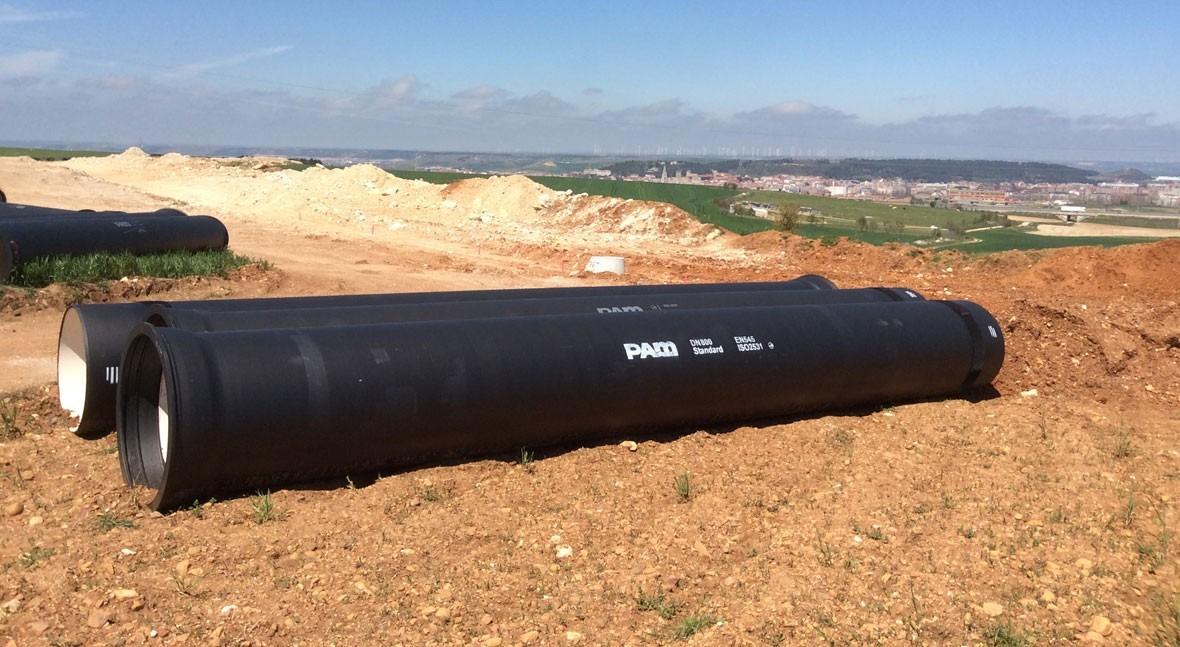 Saint-Gobain PAM España mejora anillo abastecimiento zona burgalesa Cortes