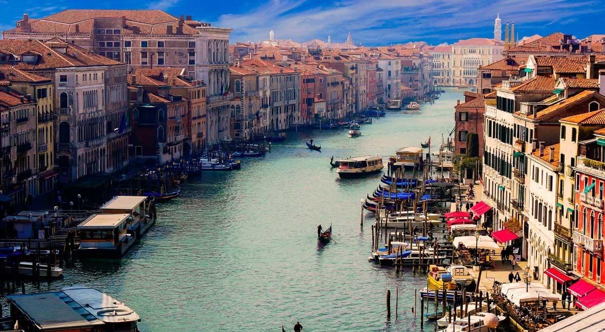otra cara coronavirus: agua Venecia y aire mundo