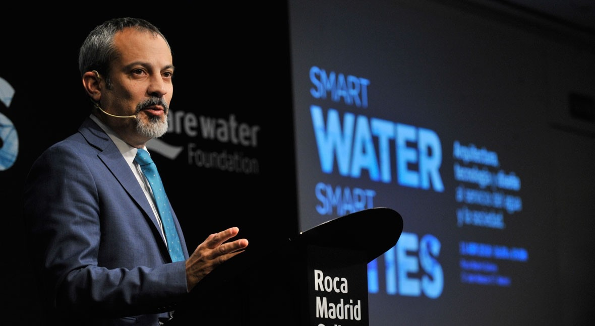 """Víctor Arroyo: """" factor limitante reúso agua Latinoamérica es gestión"""""""