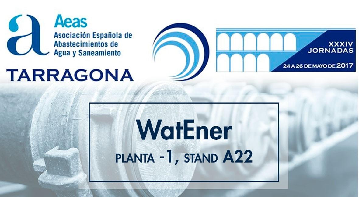 WatEner, presente Jornadas Técnicas AEAS Tarragona