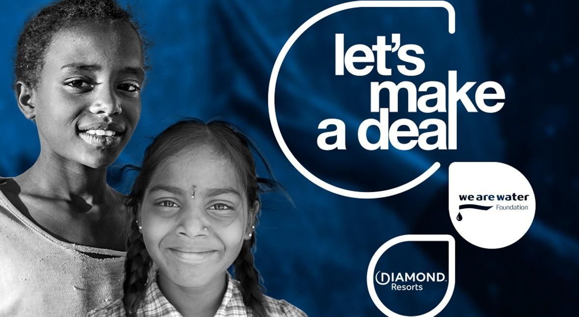 Fundación We Are Water y Diamond Resorts colaboran promover uso sostenible agua