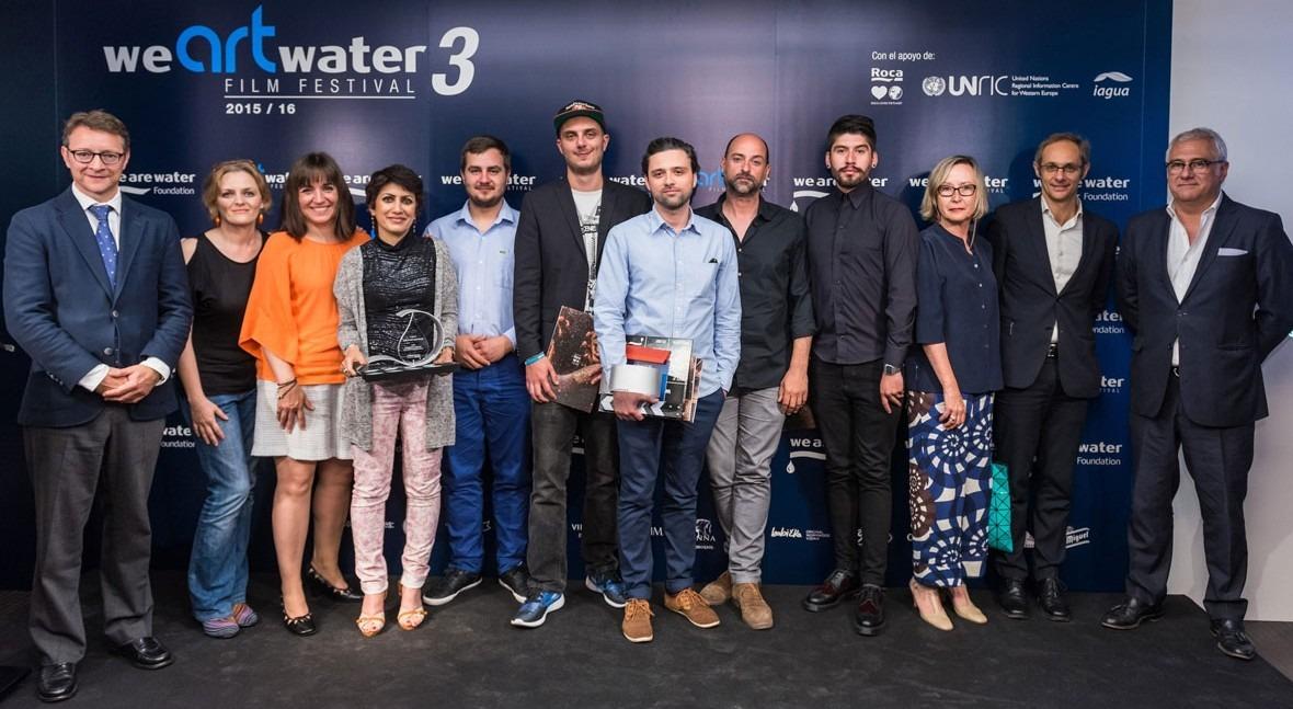 Irán, Rusia, Camerún y Bangladesh, vencedores We Art Water Film Festival 3