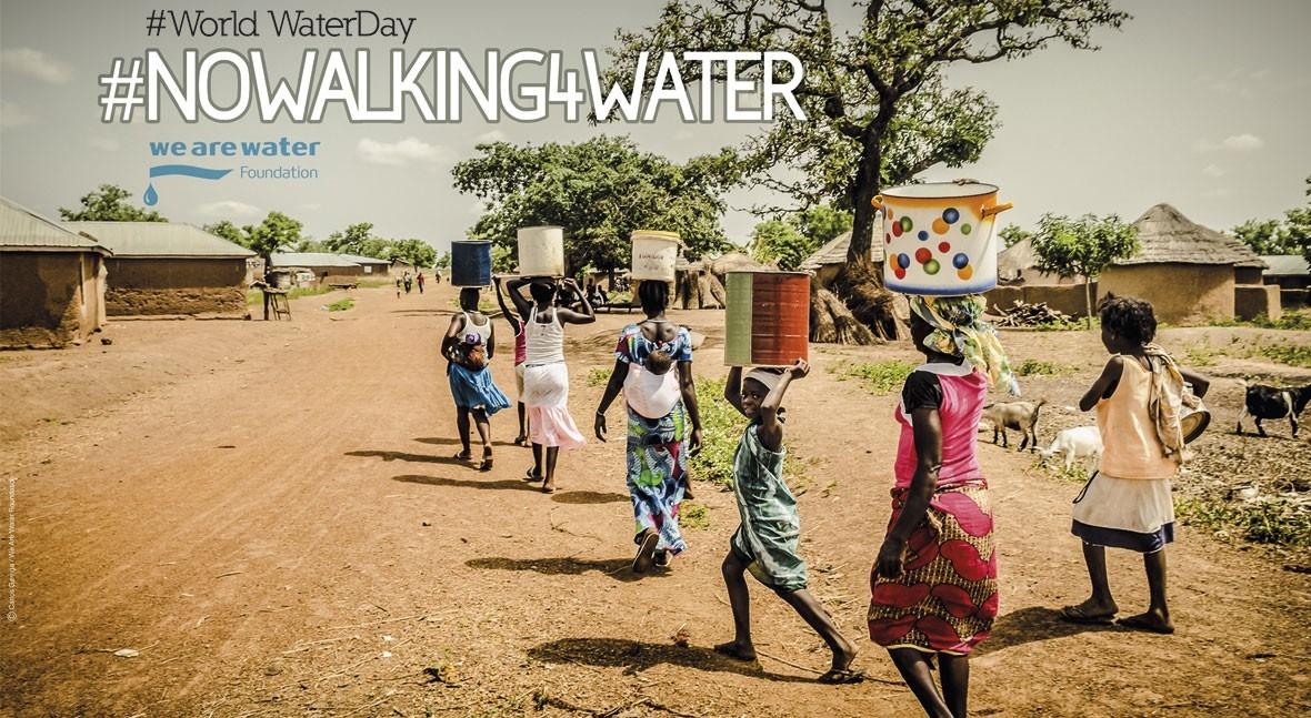 #NOWALKING4WATER, campaña denunciar falta acceso agua millones personas