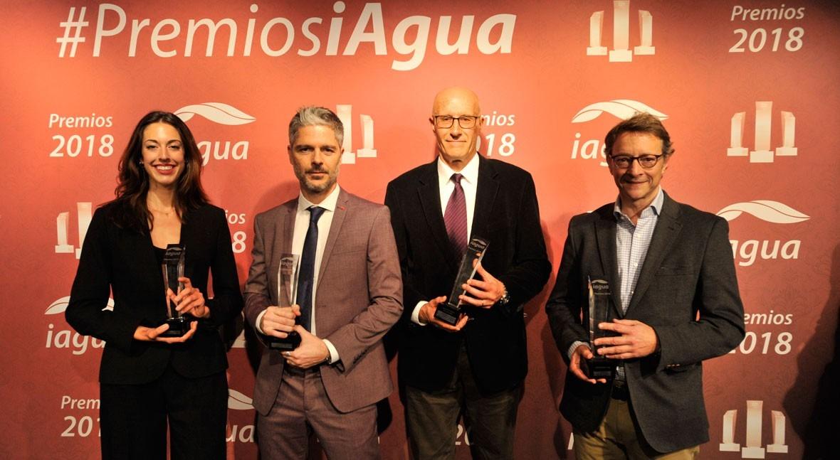 Fundación We Are Water se alza cuatro premios iAgua