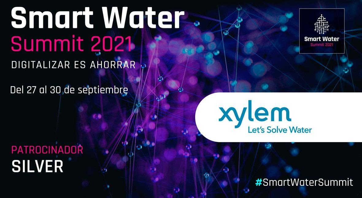 Xylem Water Solutions España será Silver Sponsor Smart Water Summit 2021