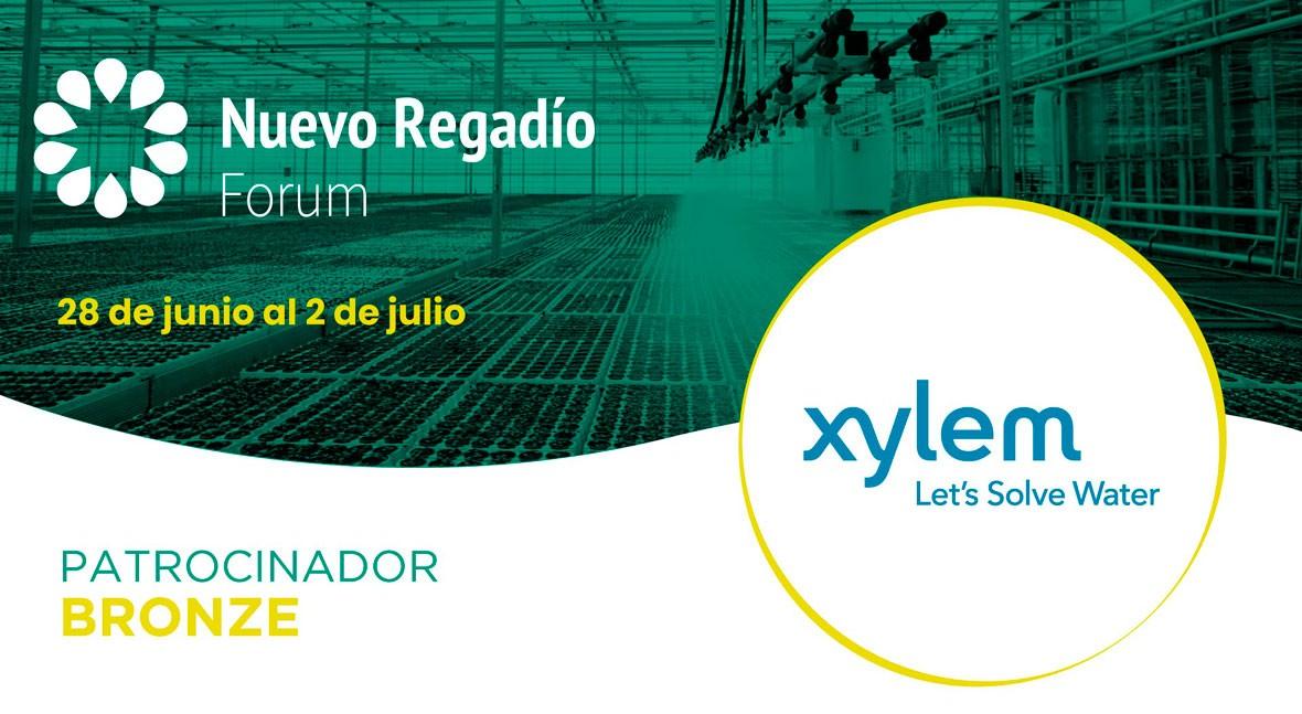 Xylem Water Solutions España, Bronce Sponsor Nuevo Regadío Forum