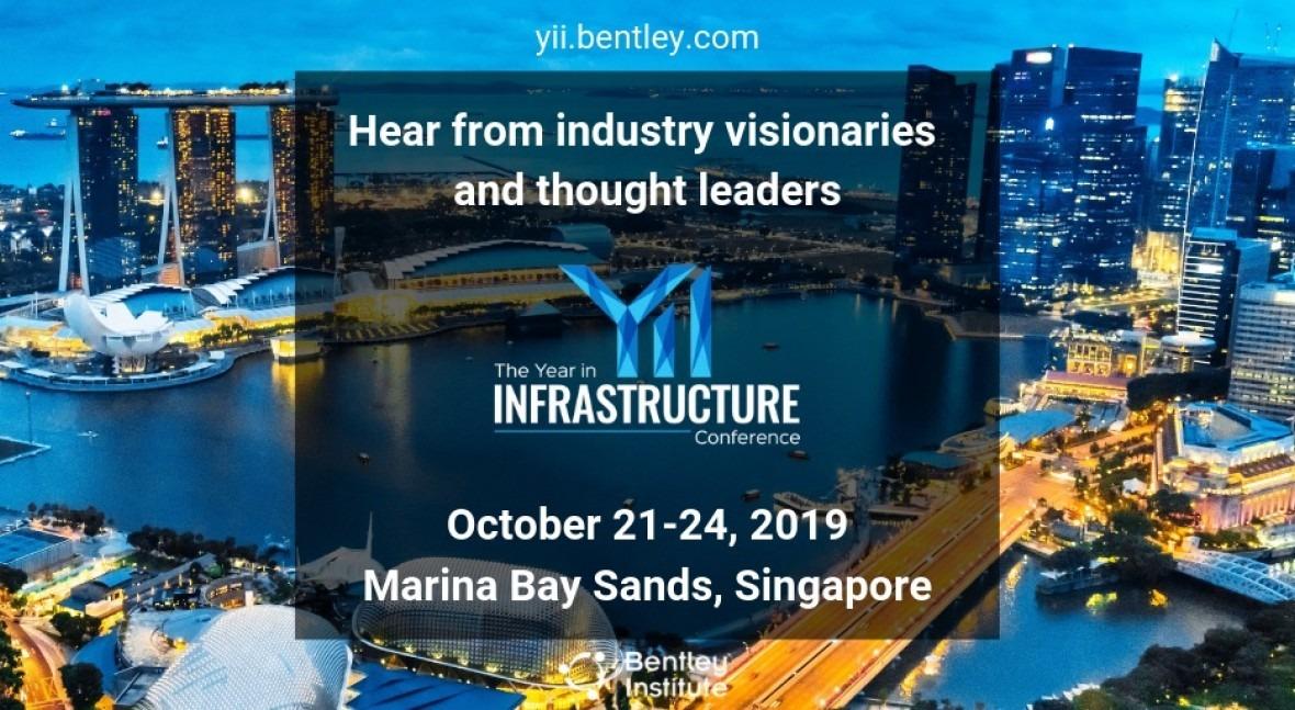 Calentando motores Conferencia Year in Infrastructure 2019 Bentley