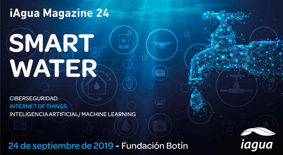 Reserva tu espacio iAgua Magazine 24: Smart Water