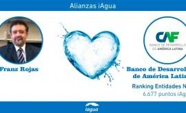 Alianzas iAgua: Franz Rojas liga blog CAF