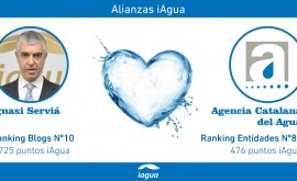 Alianzas iAgua: Ignasi Serviá liga blog Agencia Catalana Agua