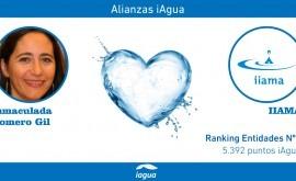 Alianzas iAgua: Inmaculada Romero Gil liga blog IIAMA