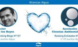 Alianzas iAgua: Javier Reyes liga blog Asociación Ciencias Ambientales