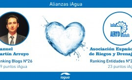 Alianzas iAgua: Manuel Martín Arroyo liga blog Asociación Española Riegos y Drenajes