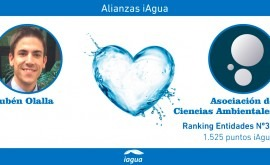 Alianzas iAgua: Rubén Olalla liga blog Asociación Ciencias Ambientales