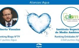 Alianzas iAgua: Alberto Vizcaíno liga blog al Instituto Superior Medio Ambiente