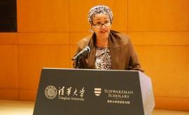 "Amina Mohammed: "" jóvenes han liderar cambio climático"""