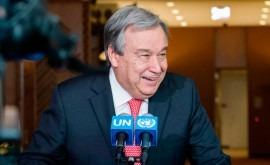 António Guterres, nuevo Secretario General ONU periodo 2017-2021