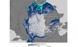 deshielo marino abre tráfico marítimo al Ártico