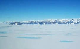 vientos cálidos también derriten hielo marino Antártida