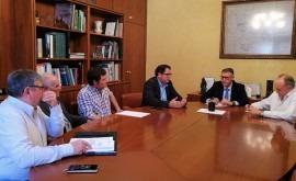 CHS y alcalde y regantes Dolores tratarán residuos flotantes río Segura