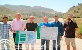 marcha obras nueva depuradora aguas residuales Huércal-Overa
