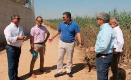 EDAR Alcázares, ejemplo reutilización: 100% agua tratada va regadío