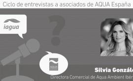 """S. González: """"Aqua España es parte fundamental nuestro desarrollo y visibilidad como empresa"""""""