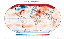 Febrero 2018, sexto febrero más cálido últimos 138 años