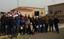 Estudiantes formación profesional visitan EDAR Fregenal Sierra