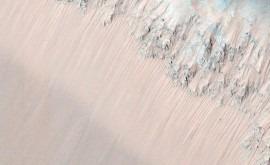 Hallados indicios hielo enterrado surcos ecuador marciano