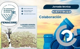 Molecor colabora XIX Jornada Técnica Fenacore Madrid