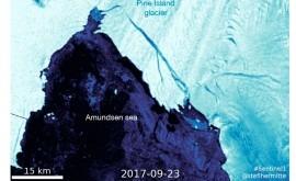 glaciar más inestable Antártida comienza desprenderse