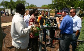 Tecnología agua agricultura Israel