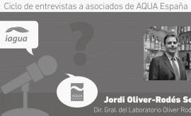 """Jordi Oliver-Rodés Sen: """"Damos enfoque y soluciones globales ciclo integral agua"""""""