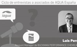 """Luís Perea: """"Aqua España nos ayuda conocer mejor tendencias mercado"""""""