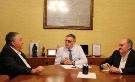 presidente CHS y alcalde San Miguel Salinas analizan situación municipio