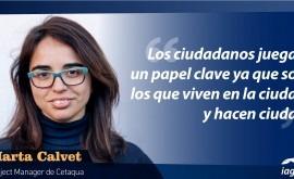 """Marta Calvet: """" ciudades que apuestan economía circular son ciudades innovadoras"""""""