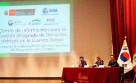 Perú y Corea presentan proyecto modernización sistema monitoreo río Rímac