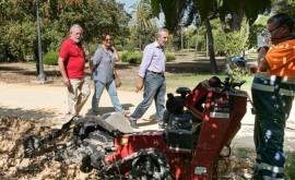 Arranca segunda fase instalación riego automático Parque Amate, Sevilla