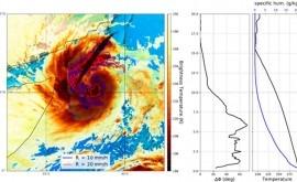 satélite español PAZ capta primeras señales precipitaciones intensas