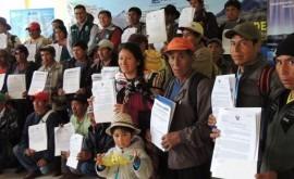 Más 5 mil agricultores Ayacucho y Huancavelica se benefician licencias uso agua