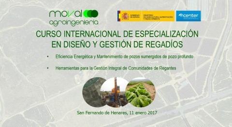 Moval Agroingeniería curso internacional Especialización Diseño y Gestión Regadíos