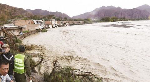 Anticipar crecidas río Pilcomayo salva vidas