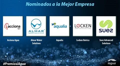 Nominados Mejor Empresa Premios iAgua 2017