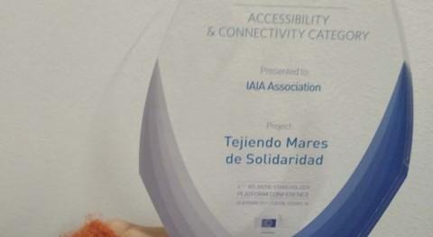 Tejiendo Mares Solidaridad recibe premio Plan Acción Atlántico