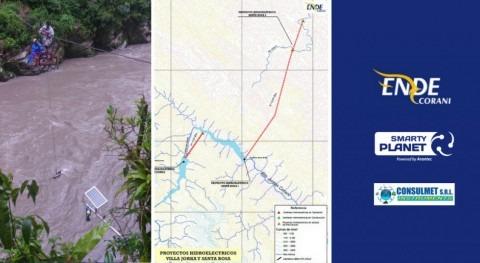 Suministro e instalación Smarty River empresa eléctrica Ende Corani Bolivia