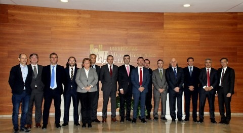 Hidraqua celebra Comité Dirección instalaciones Universidad Miguel Hernández