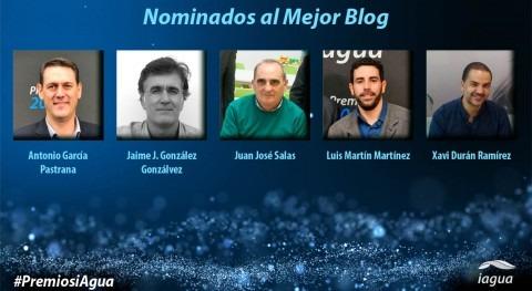 Conoce cinco profesionales que se disputan Premio iAgua al Mejor Blog