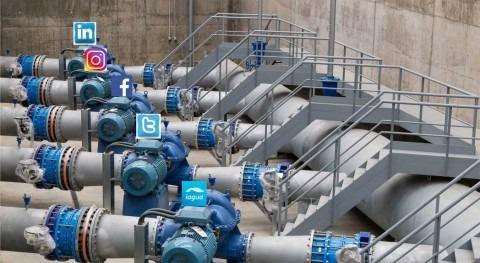 Recomendaciones uso redes sociales sector agua